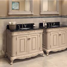 White Bathroom Vanity With Granite Top by Attractive Antique White Bathroom Vanities Legion 48 Inch Classic