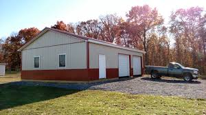 residential archives superior buildings 30x40 pole barn garage in clearbrook virginia built by superior buildings