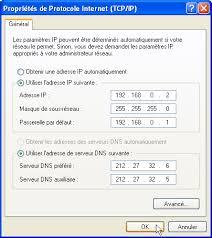 Configuracion IP