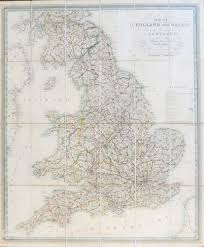 new and improved map of england and wales including the principal