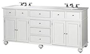 White Bathroom Vanity With Granite Top by Amazon Com Hampton Bay Double Sink Cabinet Bath Vanity With