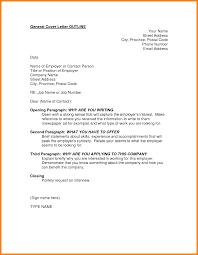 General Sample Resume Cover Letter General Sample Email