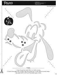 free printable mickey minnie mouse pumpkin carving stencils