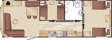 Caravan Floor Plan Layouts Adapted Caravan Accommodation At Haven Holidays