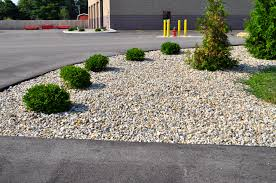 landscaping with river rock and mulch ideas homelk walk in