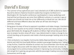 Student example uc transfer student essay SlideShare UC Transfer Essay During the summer of my passion for education was boosted