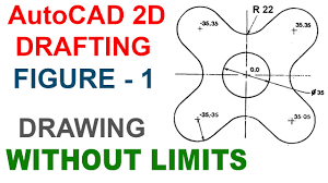 autocad 2d drafting figure 1 youtube