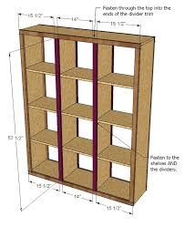 Room Divider Diy by Ana White Rolling Room Divider Cubbies Diy Projects