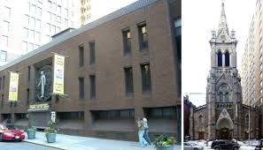 historic church near penn station to be converted to modern retail