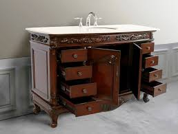 55 Inch Double Sink Bathroom Vanity by Single And Double Sink 48 Inch Bathroom Vanity Inspiration Home