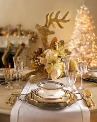 dining room elegant christmas table decoration ideas with cutlery
