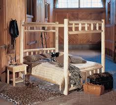 Cedar Bedroom Furniture Log Canopy Bed Rustic Canopy Bed Rustic Natural Cedar