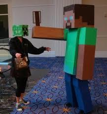 Halloween Minecraft Costume Minecraft Costume Tami Morin Show Joe Jaime U0027s 11th Bday