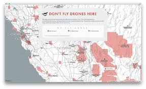 Time Zone Map Usa With Cities by Don U0027t Fly Drones Here U2013 Points Of Interest