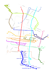 Mexico Cities Map by File Trolley Network Mexico City Svg Wikipedia