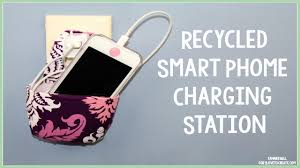 recycled diy smart phone charging station youtube