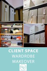 Makeover Shows by Client Space Wardrobe Makeover Blog Home Organisation The