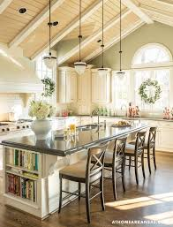 Lighting For A Kitchen by Best 20 Vaulted Ceiling Kitchen Ideas On Pinterest Vaulted