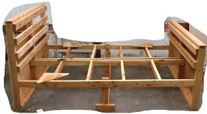 bed frames farmhouse style beds free wood bed frame plans diy