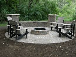 stone patio designs with fire pit home citizen ideas for wood