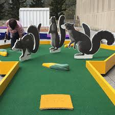 Backyard Golf Hole by Shadow Tailed Scourge Hole 1 Of Our Ima Mini Golf Course Opening