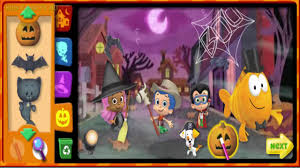 bubble guppies halloween party bubble guppies game cartoon for