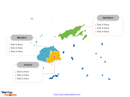 Blank Map Of Oceania by Free Fiji Editable Map Free Powerpoint Templates