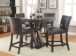 crisscross counter height dining room set casual dining sets