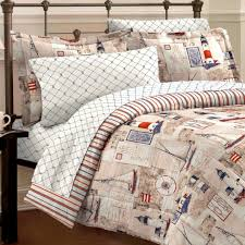 Red King Comforter Sets Seaside Nautical Bedding Twin Full Queen King Comforter Set Bed