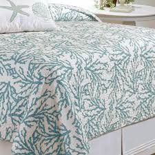 Ocean Themed Bedding Bedroom Bedroom Design Using Coral And Turquoise Bedding Plus