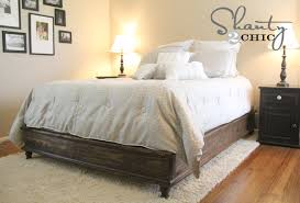 Build Your Own Platform Bed Base by Ana White Chestwick Platform Bed Queen Size Diy Projects