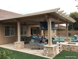 Outdoor Patio With Roof by Covered Patio Archives Page 2 Of 10 Royal Covers Of Arizona