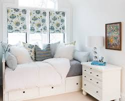 innovative full size captains bed in bedroom transitional with