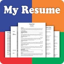 My Resume Builder CV Free Jobs