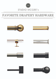 a roundup of our favorite drapery hardware drapery hardware