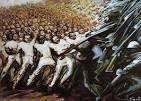 Struggle for Emancipation - David Alfaro Siqueiros - WikiPaintings.