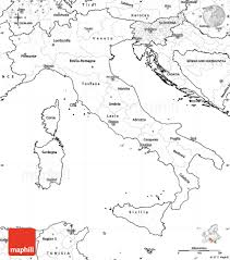 Map Of Italy Regions by Blank Simple Map Of Italy