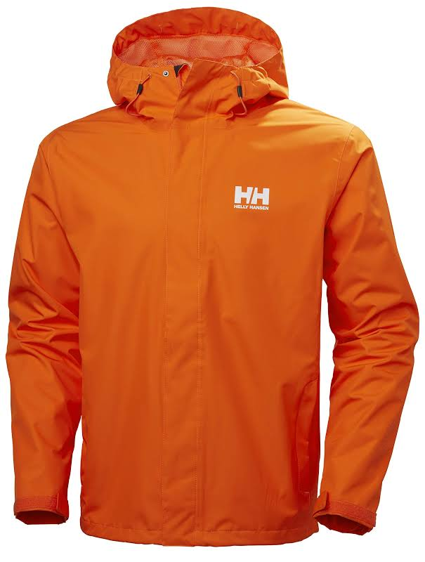 Helly Hansen Seven J Jacket Bright Orange Medium 62047-226-M