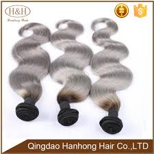 Grey Human Hair Extensions by White Hair Extensions Grey Brazilian Grey Human Hair Sew In Weave