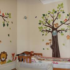 Tree Decal For Nursery Wall by 20 Jungle Tree Wall Decals For Nursery Wall Decal Safari Wall