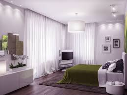bedroom heavenly modern grey and green bedroom decoration using