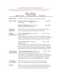 Sample Undergraduate Resume Sample Resume Undergraduate Sample Resume For College Student