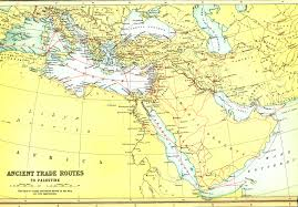 Exodus Route Map by Biblical Maps