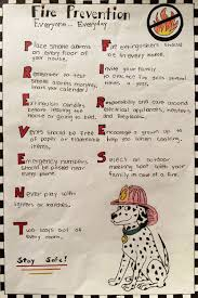 The winning fourth grade fire prevention poster by Long Hill School student Kendyll Flamini  Shelton Herald