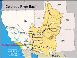 Lake Powell Map How The Colorado River U0027s Future Depends On The Salton Sea U2014 Water