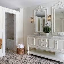 Beige And Black Bathroom Ideas Beige And Black Pebble Bathroom Floor Tiles Design Ideas