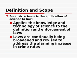 Does chemistry help the field of forensic science solve crimes  mba essay help