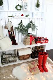 Christmas Home Decorations Pictures Best 25 Christmas Entryway Ideas On Pinterest French Country