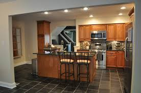 kitchen floor kitchen decor modern interior design with black