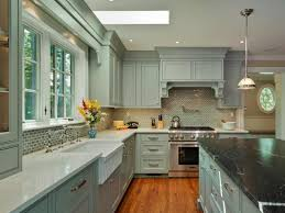 Kitchen Cabinet Colors 2014 by Kitchen Original Magued Barsoum Blue Gray Kitchen Cabinets Jpg